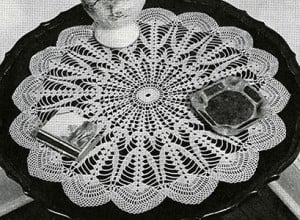 Northern Lights Doily ~ Free Vintage Crochet