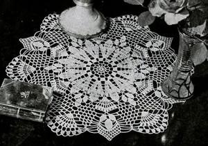 White Sapphire Doily ~ Free Vintage Crochet