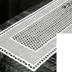 Lacet Table Runner ~ Free Vintage Crochet