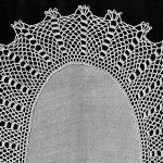 Bridge Crossing Doily ~ Free Vintage Crochet