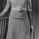 School Girl Dress ~ Free Vintage Crochet
