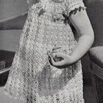 Party Days Dress ~ Free Vintage Crochet