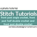 Fpsc, Fphdc and Fpdc Stitch Tutorials ~ Oombawka Design