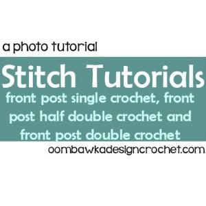 Fpsc, Fphdc and Fpdc Stitch Tutorials ~ Oombawka Design