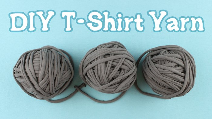 how to connect t shirt yarn