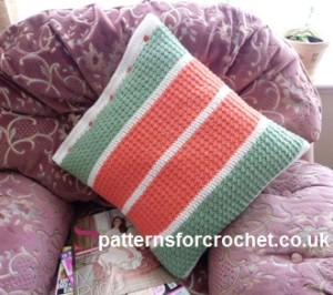 Scatter Cushion Cover ~ Patterns For Crochet