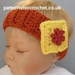Newborn Headband ~ Patterns For Crochet