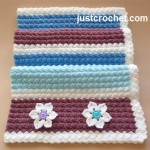 Everyday Blanket ~ JustCrochet