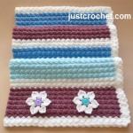 Everyday Blanket ~ JustCrochet