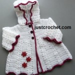 Hooded Coat ~ JustCrochet