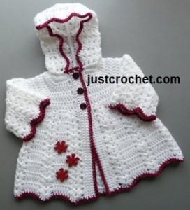 Hooded Coat ~ JustCrochet