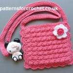 Girl's Purse ~ Patterns For Crochet