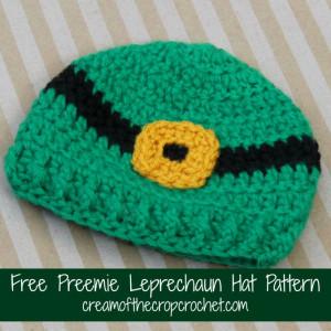 Preemie Leprechaun Hat ~ Cream Of The Crop Crochet