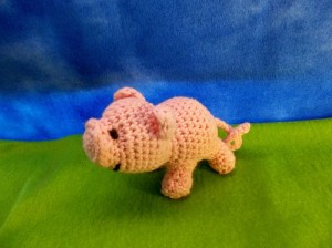 Lucky Lil' Piglet ~ Sheep of Delight