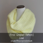 Cowl Pattern ~ Cream Of The Crop Crochet