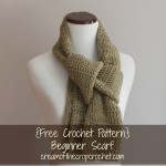 Beginner Scarf ~ Cream Of The Crop Crochet