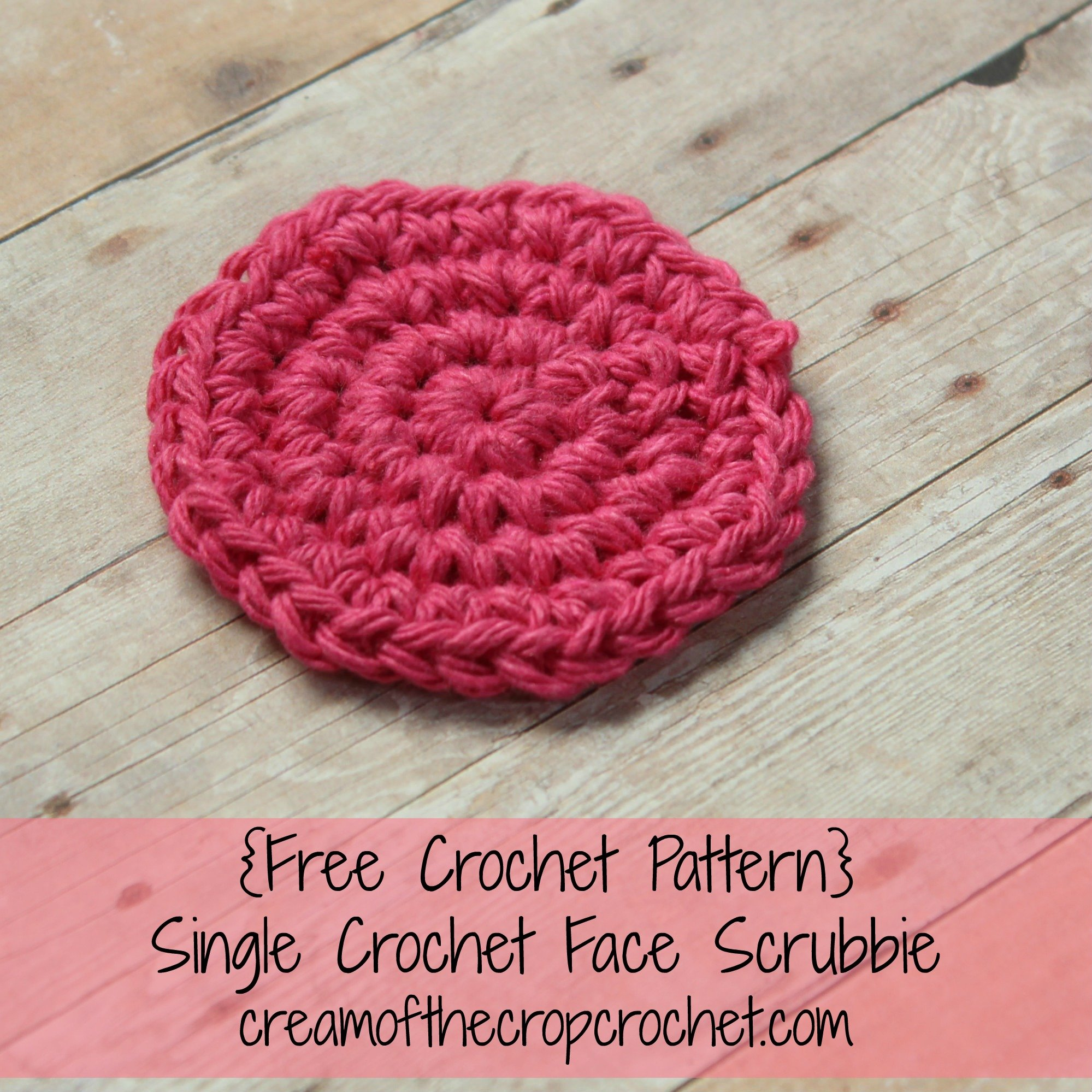 Face Scrubbies Archives - Crochet Pattern Bonanza