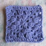 "Another Variation of a Granny Square 6"" ~ SmoothFox Crochet and Knit"