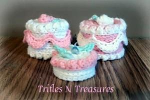 No-Bake Treasure Cakes ~ Tera Kulling - Trifles N Treasures