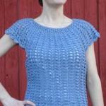 Scalloped Summer Top ~ ABC Knitting Patterns