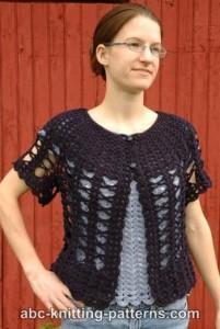 Midsummer Night Lace Cardigan ~ ABC Knitting Patterns