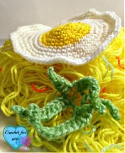 Garnish Leaves ~ Erangi Udeshika - Crochet For You