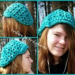 Super Bulky Slightly Slouchy Hat ~ Tera Kulling - Trifles N Treasures