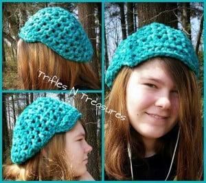 Super Bulky Slightly Slouchy Hat ~ Tera Kulling - Trifles N Treasures