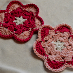 Flower Coasters ~ Art Threads