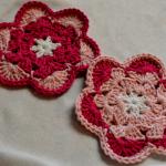 Flower Coasters ~ Art Threads