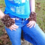 Furry Fingerless Gloves ~ Crochet is the Way