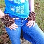 Furry Fingerless Gloves ~ Crochet is the Way