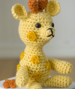 Little Crochet Giraffe ~ Michele Wilcox - Red Heart