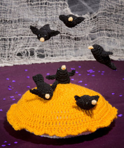 Blackbirds Baked in a Pie ~ Michele Wilcox - Red Heart