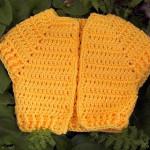 Jonquil Baby Vest ~ Suzies Stuff