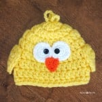 Chunky Baby Chick Hat ~ Repeat Crafter Me