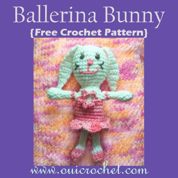 Ballerina Doll Bunny Pattern – Crochet   600x600