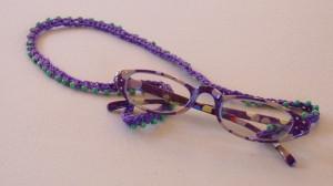 Beaded Eyewear Retainer ~ Crochet Spot