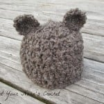 Basic Crochet Bear Beanie ~ Knot Your Nana's Crochet