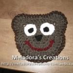 Bear Face Motif ~ Meladora's Creations