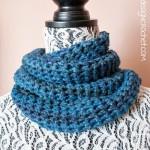 Blue Skies Cowl ~ Oombawka Design