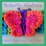 Butterfly Applique ~ Oui Crochet