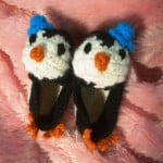 Penguin Baby Booties ~ Crochet Parfait