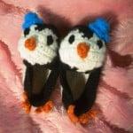 Penguin Baby Booties ~ Crochet Parfait