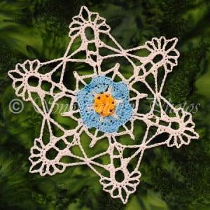 Forget-Me-Not Flower & Snowflake ~ Snowcatcher