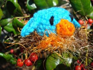 Bitty Bird and Nest Amigurumi ~ NyanPon.com