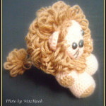 Little Lion Amigurumi ~ Maz Kwok's Designs