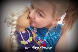 Dolly & Me Child's Choice Button Necklaces ~ Jennifer Gregory - Niftynnifer's Crochet & Crafts