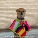 Scrap Happy Dog Poncho ~ Sara Sach – Posh Pooch Designs