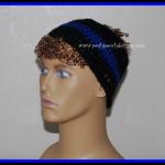 Blue Line Police Headband ~ Sara Sach – Posh Pooch Designs